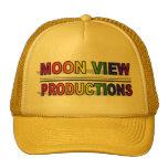 Gorra de las producciones de la opinión de la luna