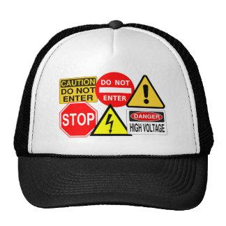 Gorra de las señales de tráfico - elija el color