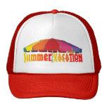 Gorra de las vacaciones de verano