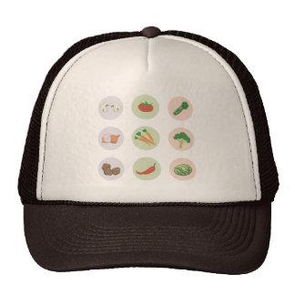 Gorra de las verduras