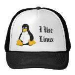gorra de Linux del uso de www.alinuxworld.com I