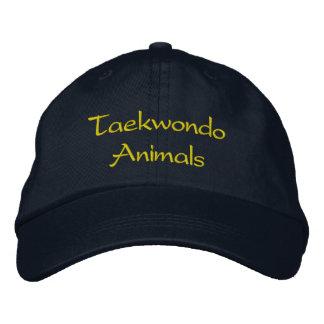 Gorra de los animales del Taekwondo Gorra De Beisbol