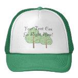 Gorra de los árboles del arbolado