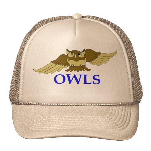 Gorra de los BÚHOS