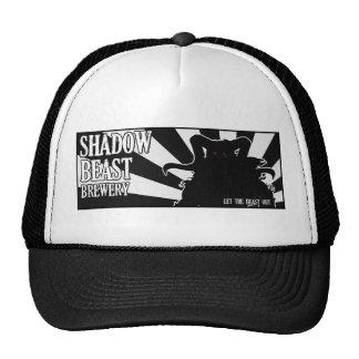 Gorra de los camioneros de la bestia de la sombra