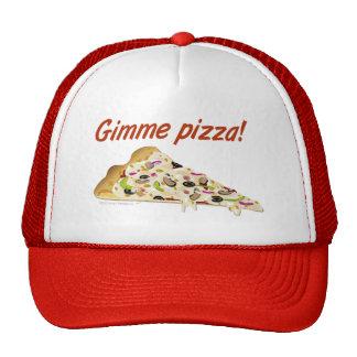 Gorra de los camioneros de los amantes de la pizza