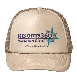 Gorra de los centros turísticos 360 - cambie su la