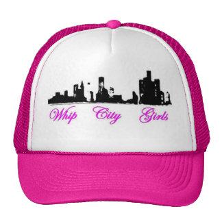gorra de los chicas de la ciudad del azote