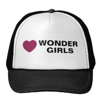 Gorra de los chicas de la maravilla del amor