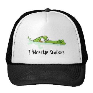 Gorra de los cocodrilos de la lucha