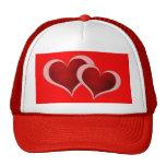 Gorra de los corazones del el día de San Valentín