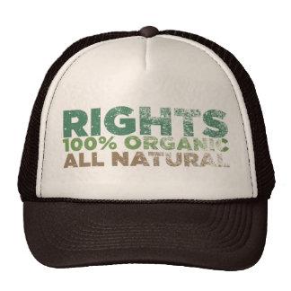 Gorra de los derechos naturales