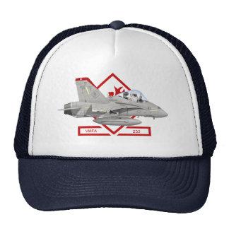 Gorra de los diablos rojos VMFA-232