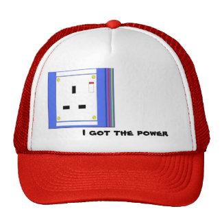gorra de los electricistas