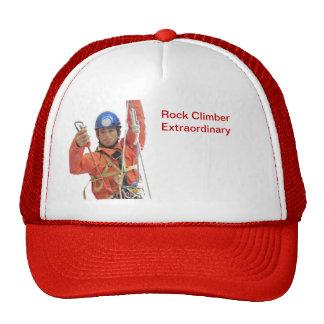 Gorra de los escaladores de roca