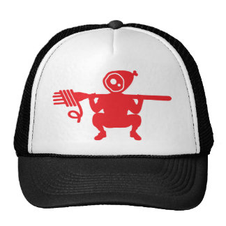 Gorra de los espaguetis y del camionero de