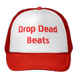 Gorra de los golpes de los muertos del descenso