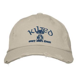 Gorra de los HOMBRES de KILTED Gorra De Béisbol