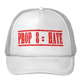 Gorra de los iguales del apoyo 8