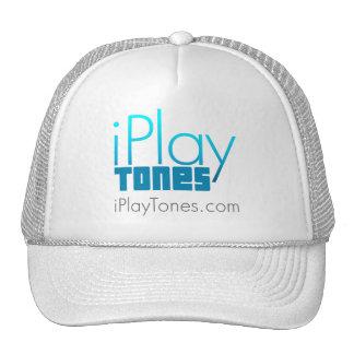 gorra de los iPlayTones (blanco)