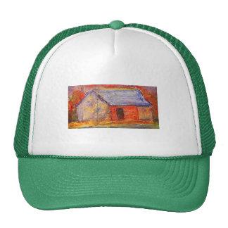 gorra de los jardineros de la casa de la granja