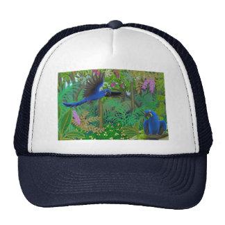 Gorra de los Macaws del jacinto