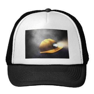 gorra de los mineros de carbón