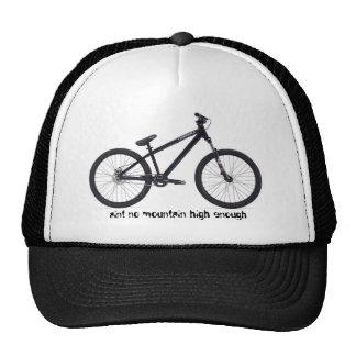 gorra de los motoristas de la montaña