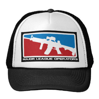 Gorra de los operadores de la primera división