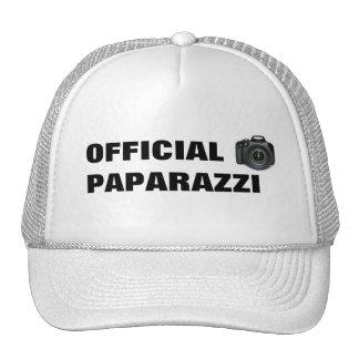 Gorra de los PAPARAZZIS