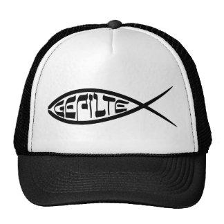 Gorra de los pescados de Gefilte