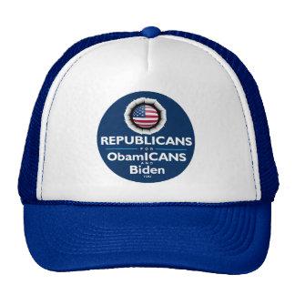 Gorra de los republicanos de ObamICANS