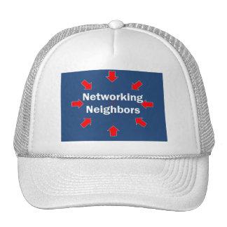 Gorra de los vecinos del establecimiento de una re