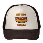 Gorra de los vendedores del camión de la comida de