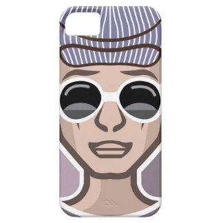 Gorra de los vidrios de Avatar del tipo iPhone 5 Carcasa
