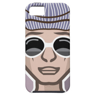 Gorra de los vidrios de Avatar del tipo iPhone 5 Funda