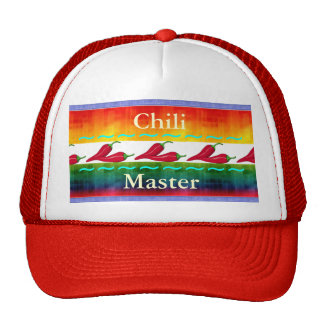 Gorra de lujo del amo del chile