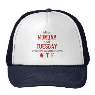 Gorra de lunes martes