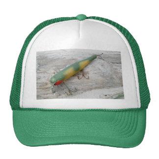 Gorra de madera del átomo de la serie del señuelo
