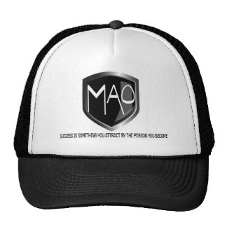 Gorra de MAO con cita del éxito