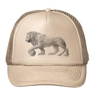 Gorra de mármol del león