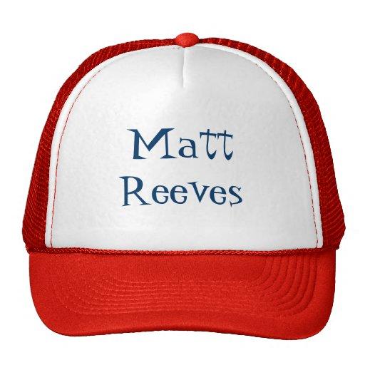 Gorra de Matt Reeves