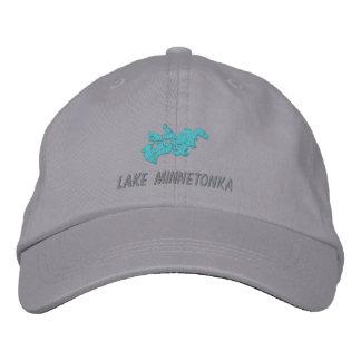 Gorra de Minnetonka del lago Gorra De Béisbol