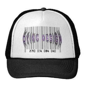 Gorra de muerte del camionero del diseño