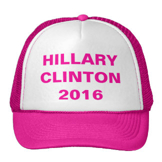 Gorra de neón 2016 de Hillary Clinton de las rosas