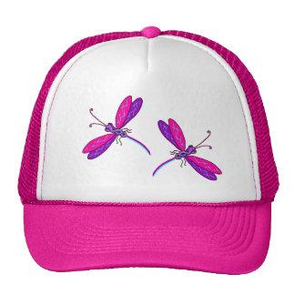 Gorra de neón de la libélula