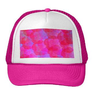 Gorra de neón de los rosas