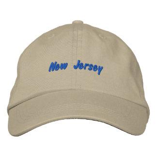 Gorra de New Jersey Gorra De Beisbol Bordada