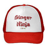 Gorra de Ninja del jengibre