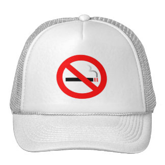Gorra de no fumadores del personalizado del símbol